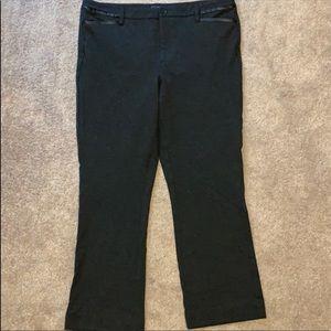 NYDJ 14 Lift Tuck Knit Ankle Pants